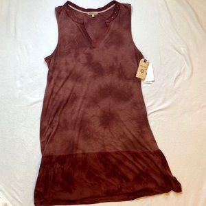 NWT tie dye studded flowy dress